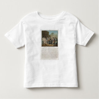 Surrender of the city of Madras, 1746, engraved by Toddler T-shirt
