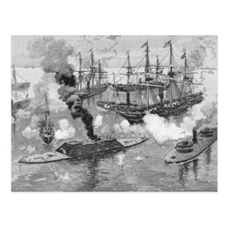 Surrender of the 'Tennessee', Battle of Mobile Postcard
