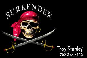 pirate business cards zazzle
