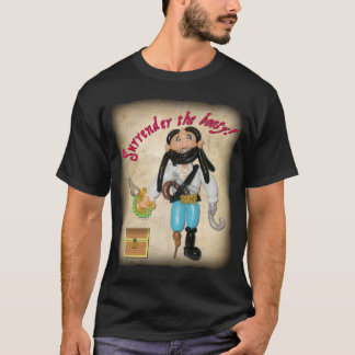 Surrender the Booty Balloon Pirate shirt