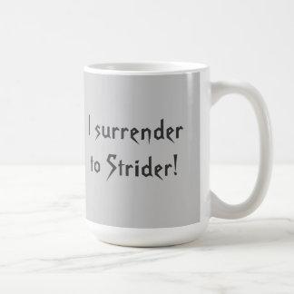 Surrender to Strider mug. Coffee Mug