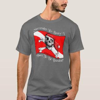 Surrender Yer Booty Dark T-shirt