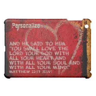 Surrendering All Matthew 22:37 Scripture Photo Art Case For The iPad Mini