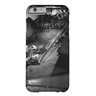 Surrounded by F6F's, ordnancemen work on_War Image Barely There iPhone 6 Case