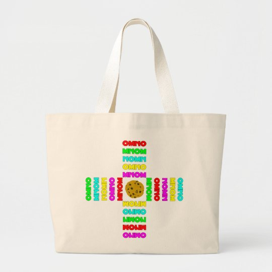 Surrounded By OMNOMs Large Tote Bag