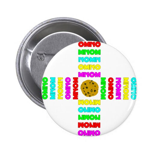 Surrounded By OMNOMs Pinback Buttons