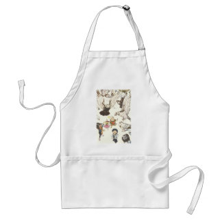 Surrounded by Pigeons Adult Apron