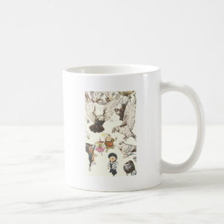 Surrounded by Pigeons Coffee Mug