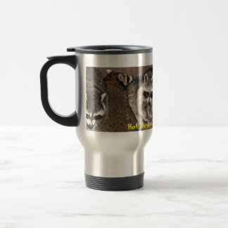 Surrounded by Raccoons Travel Mug