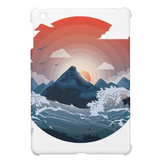 Surrounded by storm iPad mini cover