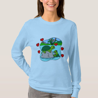 Surrounded By Turtle Love Tee Shirt