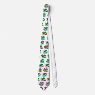 Surrounded By Turtle Love Tie