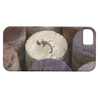 Surtido de corchos usados macro Los corchos tien iPhone 5 Case-Mate Carcasas