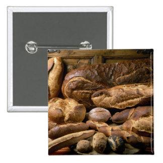 Surtido de panes del estilo rural para el uso aden pin