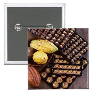 Surtido del chocolate para el navidad para el uso  pins