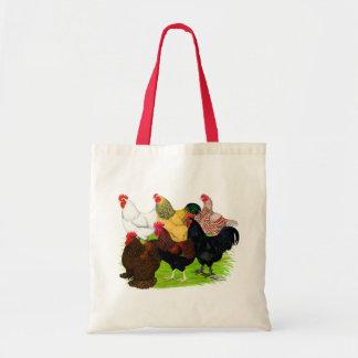 Surtido pesado del gallo bolsas