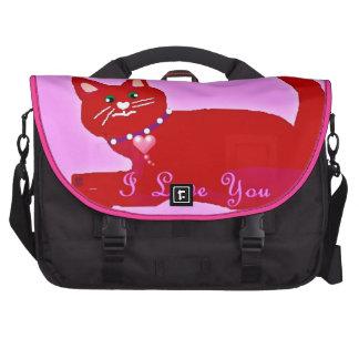 Surtido rojo divertido del regalo de la tarjeta de bolsas de portátil
