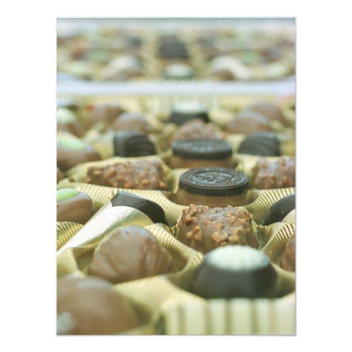 Surtidos del chocolate fotos
