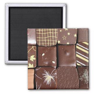 Surtidos del chocolate iman de frigorífico