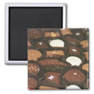 Surtidos del chocolate imán para frigorifico