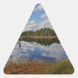 Suru Bog, Põhja-Kõrvemaa Nature Reserve, Estonia Triangle Sticker