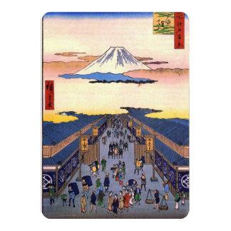 "Suruga-chō Invitación 5"" X 7"""