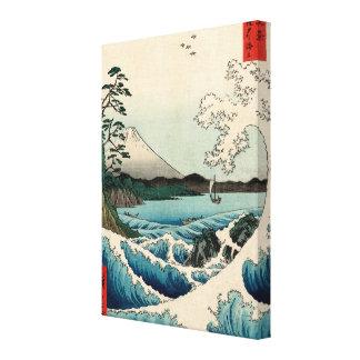 Suruga Satta no Kaijō Canvas Print