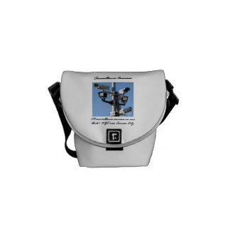 Surveillance Cameras Messenger Bag