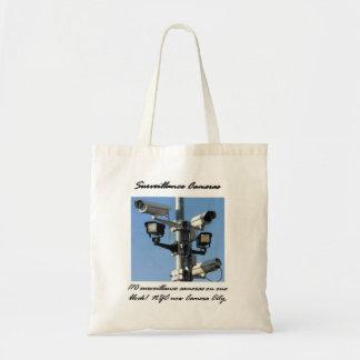 Surveillance Cameras Tote Bag