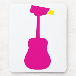 Surveillance Guitar Mouse Pad
