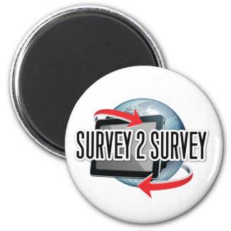 Survey2Survey genérico Imán Redondo 5 Cm