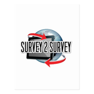 Survey2Survey genérico Tarjetas Postales
