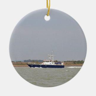 Survey Boat Verifier Christmas Tree Ornaments