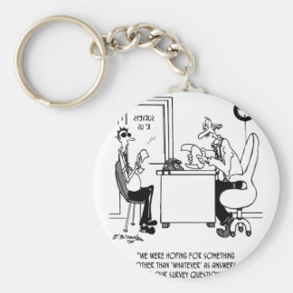 Survey Cartoon 7990 Keychain