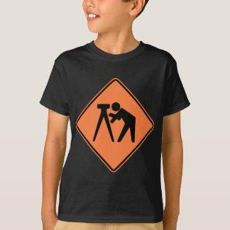 Survey Crew Highway Sign T-Shirt