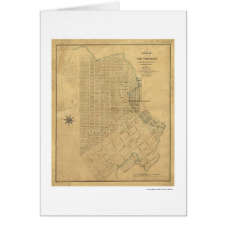Survey of San Francisco by Michelin 1849 Card