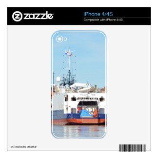Survey Ship Atlantic Wind Decal For iPhone 4S