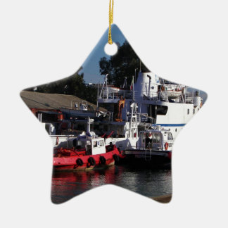 Survey Ship Minerva Christmas Tree Ornament