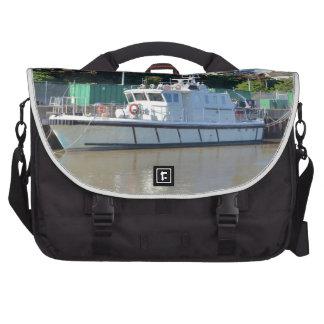 Survey Vessel Sea Mink Laptop Bag