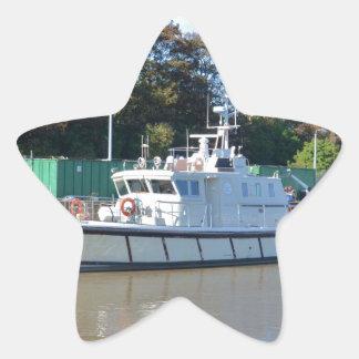 Survey Vessel Sea Mink Star Sticker