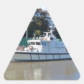 Survey Vessel Sea Mink Triangle Sticker