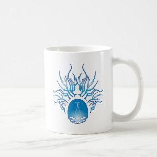 Surveying Skull Classic White Coffee Mug