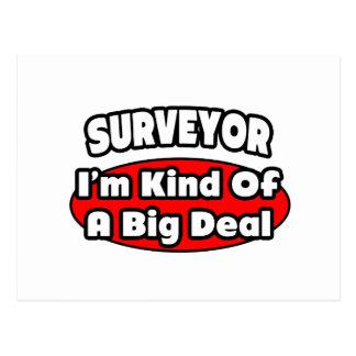 Surveyor Big Deal Postcards