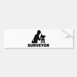 Surveyor Bumper Sticker
