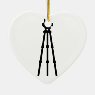 Surveyor Ceramic Ornament