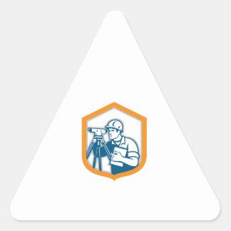 Surveyor Geodetic Engineer Survey Theodolite Shiel Sticker