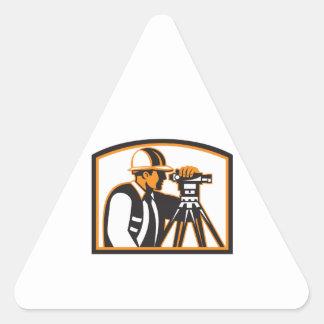 Surveyor Geodetic Engineer Survey Theodolite Stickers
