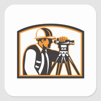 Surveyor Geodetic Engineer Survey Theodolite Sticker