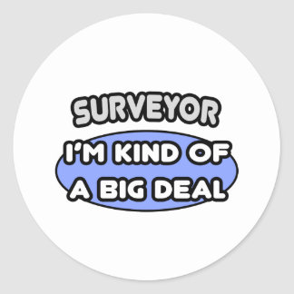 Surveyor Kind of a Big Deal Stickers