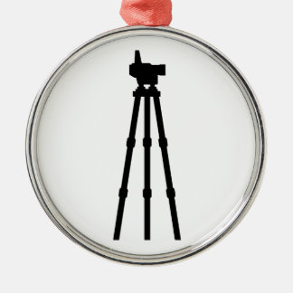 Surveyor Metal Ornament